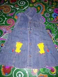 Dress bahan jeans