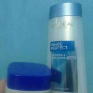 TAKE ALL 60 K LOREAL DAY CREAM & TONER 200 ML & 50 ML NEGO!!!