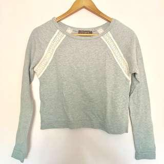 Just G Lace Detailed Sweater