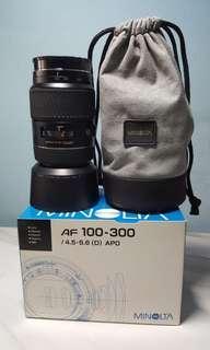 Minolta AF APO 100-300mm F4.5-5.6 D