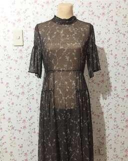 Cover up maxidress
