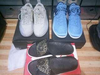For Sale Air Jordan sneakers and slides