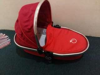 iCandy peach bassinet red