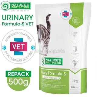 [REPACK] Nature's Protection Urinary Formula-S VET Pet Food For Adult Cats - 500g