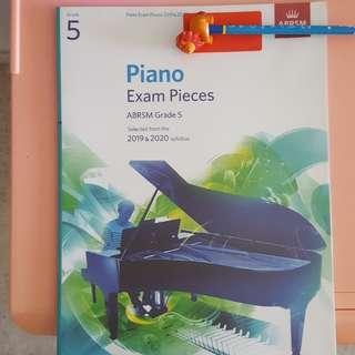 Abrsm grade 5 piano exam pieces 2019