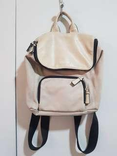 Kenneth Cole genuine leather backpack