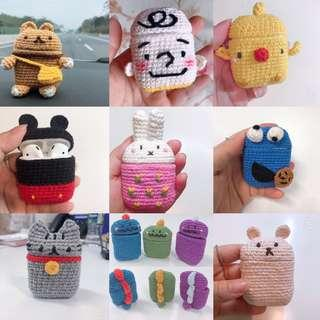 [Made In SG] Handmade Crochet Airpods Cover