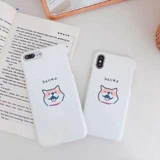 🚚 Shiba IPhone XS X 7 8 Plus 6 6s Cover Hard PC Casing