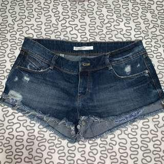 Zara Denim Shorts Size 6