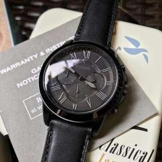 Ready Stock !!! New Original Fossil Grant Chronograph FS5132