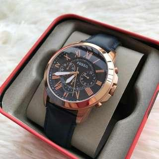 Ready Stock !!! New Original Fossil Grant Chronograph FS4835