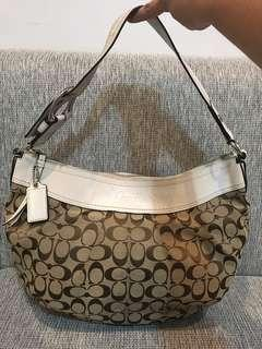 Coach Soho Pulley Ted Signature Bag