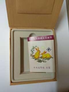 🚚 2011年,臺灣銀行,兔年精鑄生肖銀幣