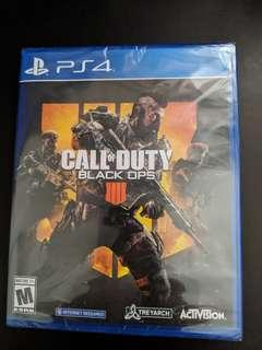 PS4 Call of Duty Black Ops 4 (New)