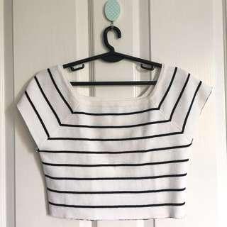 BAYO Stripes Crop top