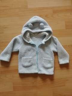🚚 藍色毛料外套