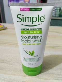 Simple Moisturizing Facial Cleanser