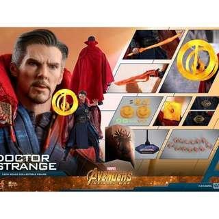 Hottoys 1/6 Infinity War 無限之戰 Doctor Strange 19/5次日訂單