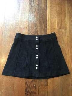 Bardot Faux Suede Skirt