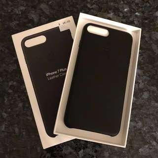iPhone 7 Plus Original Leather Case-Black