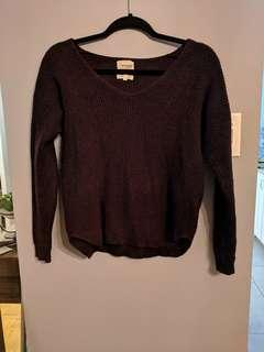 Aritzia Wilfred Sweater Sz M