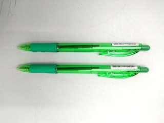 Pental Green Pens