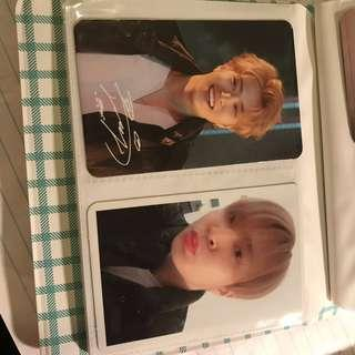 Got7 photo cards(official & fan made)