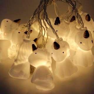 Lampu Tumblr LED unicorn