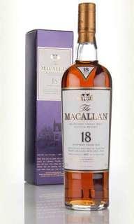 Macallan 18 1997