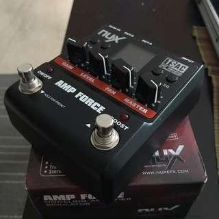 WTS/WTT Nux Amp Force amp/cab simulator