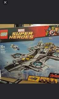 Lego Marvel Helicarrier 76042