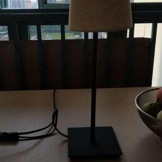 Table Lamp (cylindrical on stand