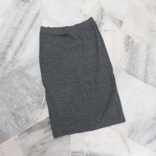 H&M Bodycon Skirt (Grey)