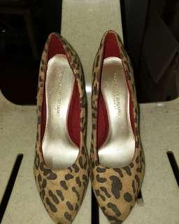 Christian Siriano Leopard High Heels (3in)