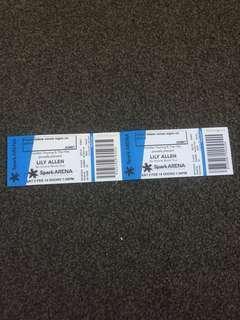 2 Lily Allen tickets