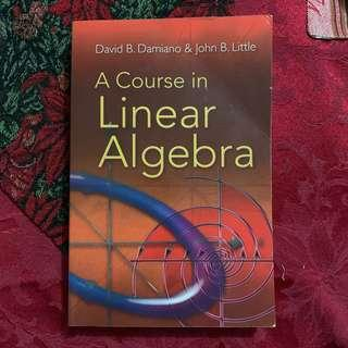 A Course in Linear Algebra by David Damiano & John Little