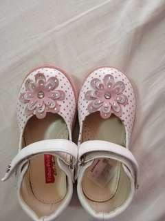 Fischer Price baby girl shoes white