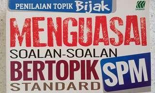 Buku Latihan Topikal Mirip Soapan SPM SEBENAR - (SEJ/BM/SCI/MATH/ADD MATH/BIO/PHY)