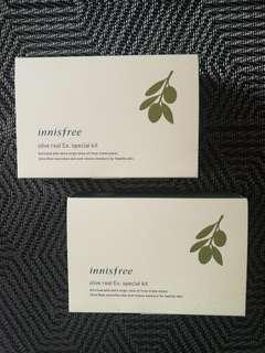 Innisfree Olive Real Ex. Special Kit (4 Items)