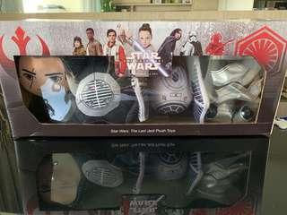 BNIB Star Wars- The Last Jedi plush toy set