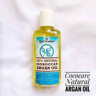 Cococare 100% Natural Moroccan Argan Oil
