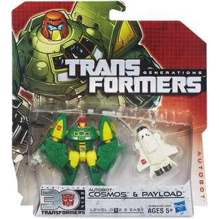 Transformers Generations Legends Class Autobot Cosmos & Payload