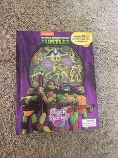 ninja turtle story book