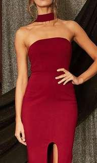 Red Choker Dress