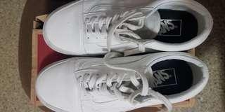 Vans Old Skool Classic White (leather)