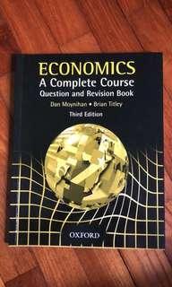 Economics - A complete course Moynihan Titley