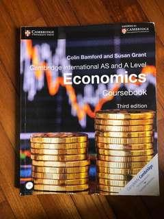 Cambridge International AS and A level Economics Coursebook