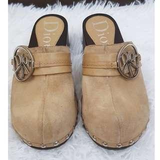 SALE🔥 Dior clog brown suede
