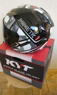 KYT Helmet Grey
