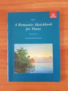 A Romantic Sketch Book for Piano
